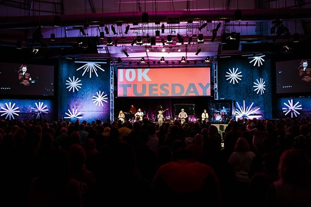 10K Tuesday is tonight! See you there!⠀ //⠀ with Special Guest Jon Acuff⠀ 7pm⠀ @ the Argyle campus