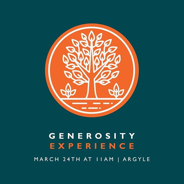 Generosity Experience is an event that explores how being generous has the power to bring more joy and freedom in our lives. Learn what it means to find purpose in generosity! ⠀ ⠀ Registration link in bio!