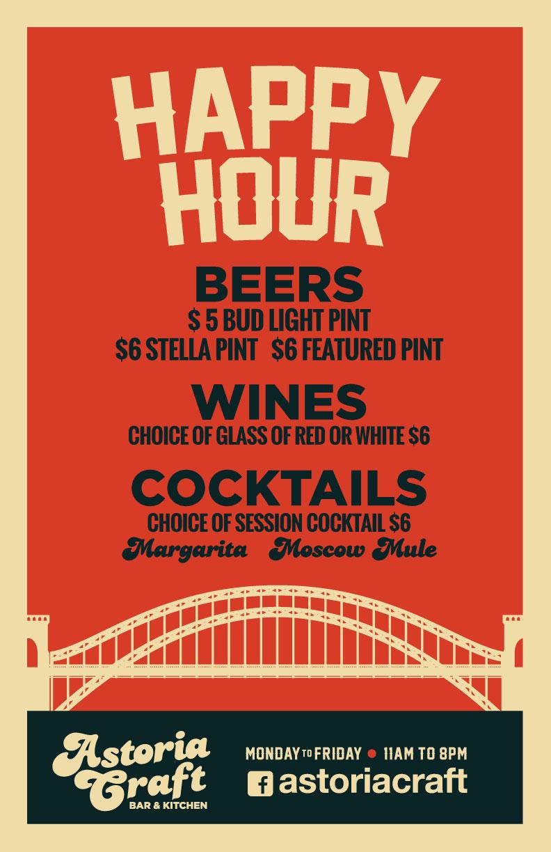Bars near Astoria Park With Happy Hour