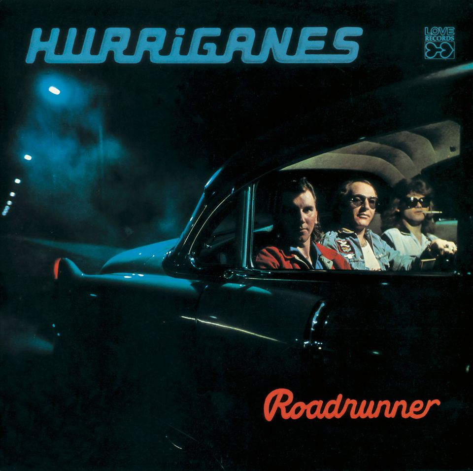 Kuva: Risto Vuorimies / Hurriganes - Roadrunner -levynkansi