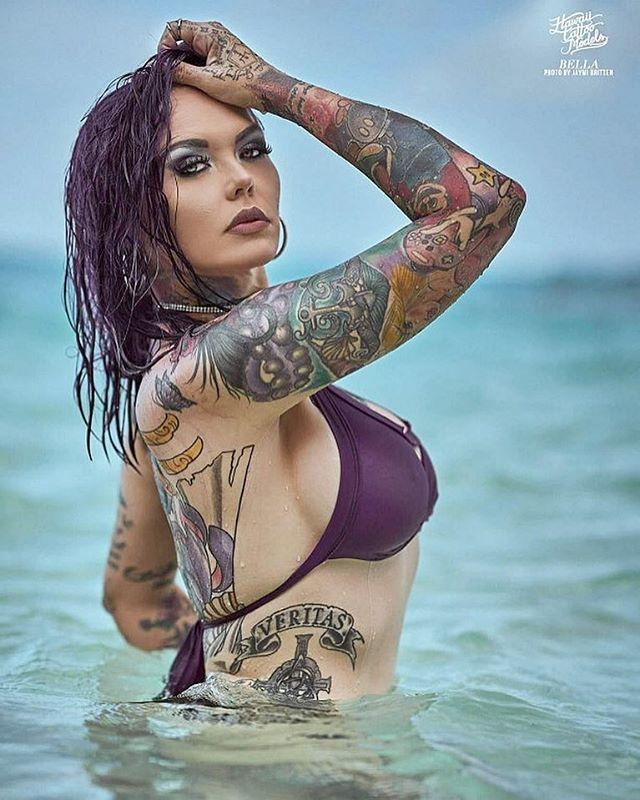 Hawaii Tattoo Models