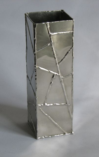 Tall Welded Vase