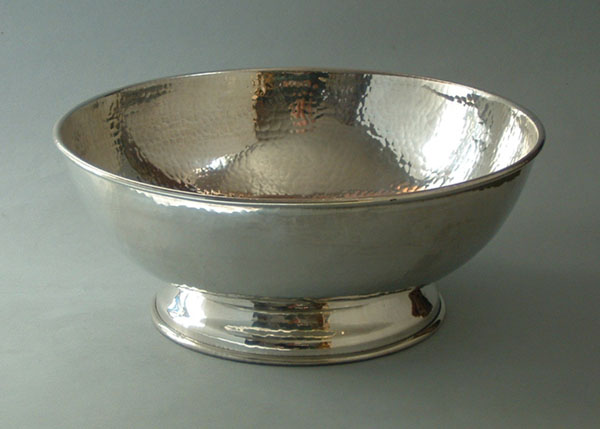 "Footed Bowl, 9"" (BL6)"