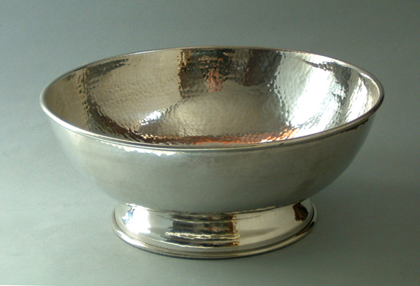 "Footed Bowl, 7"" (BL8)"