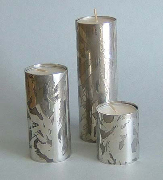 Etched Tube Candleholders (CH4E)
