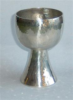 A newly polished goblet.