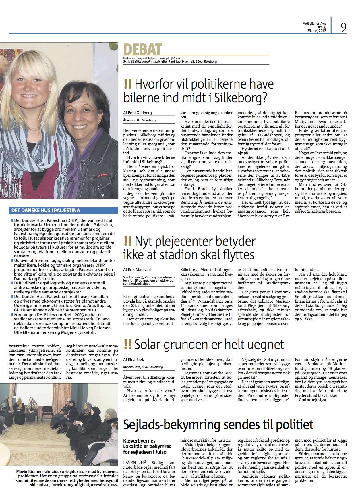 2012-05.25 - Maria fra Silkeborg i Palistinænsisk flygtningelejr.jpg