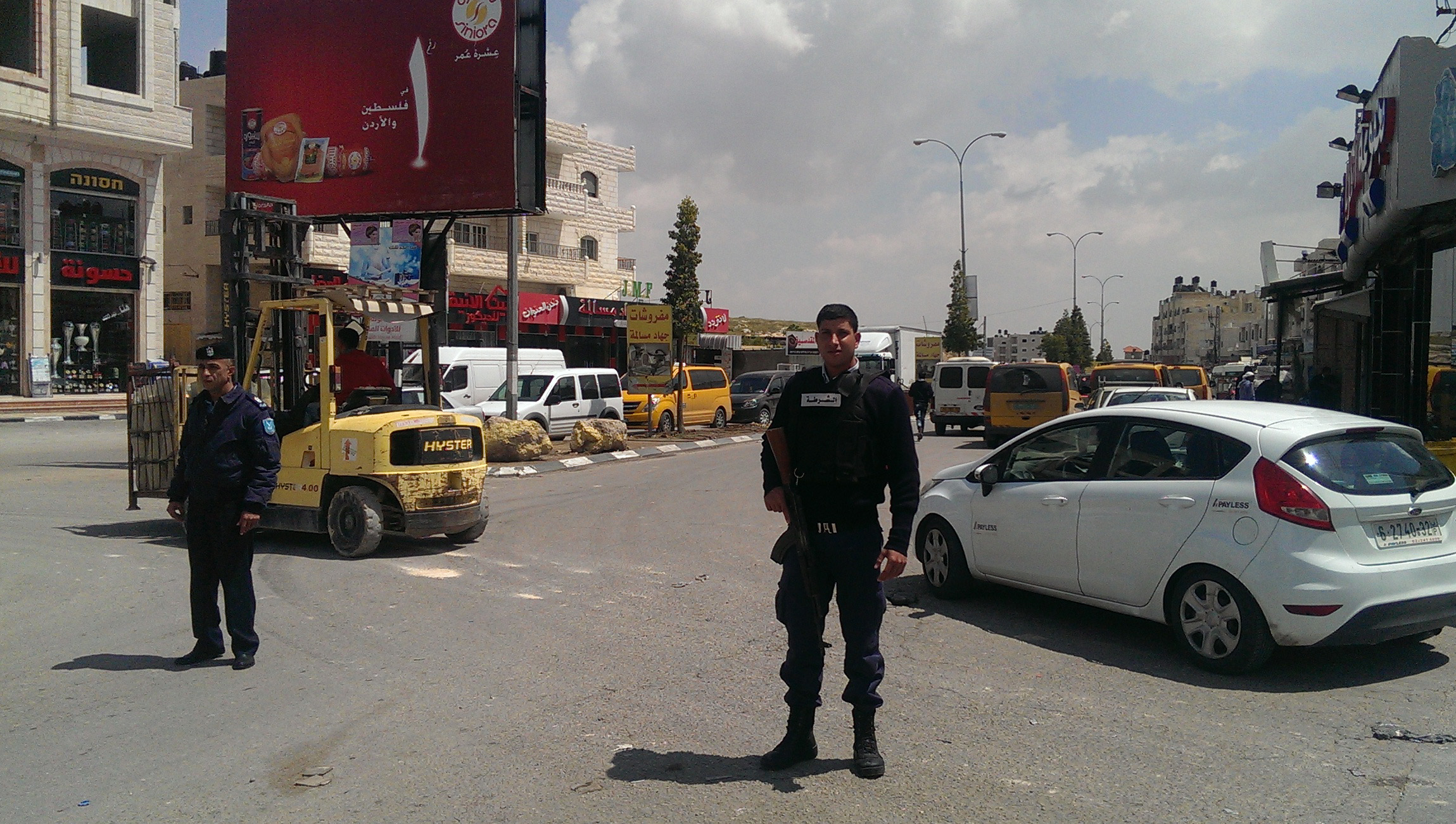 For the first time since the second intifada, uniformed and armed police could patrol the streets of Abu Dis.