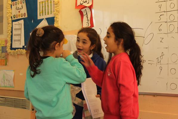 girls in HiH 2nd grade Jerusalem.jpg