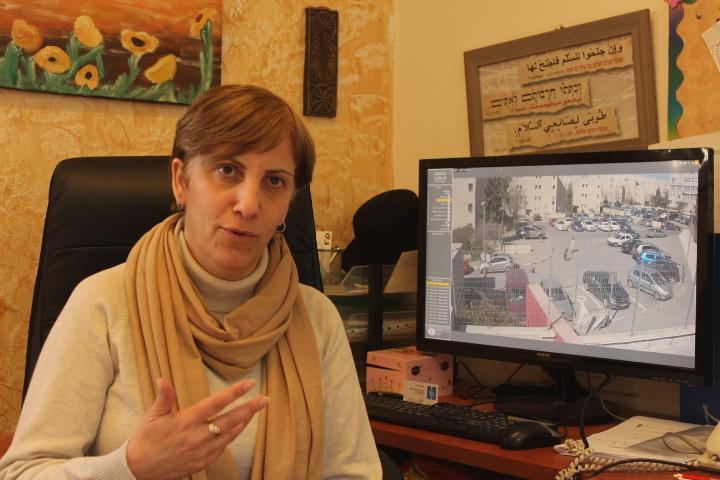 Nadia Kinani - headmaster HiH Jerusalem.JPG