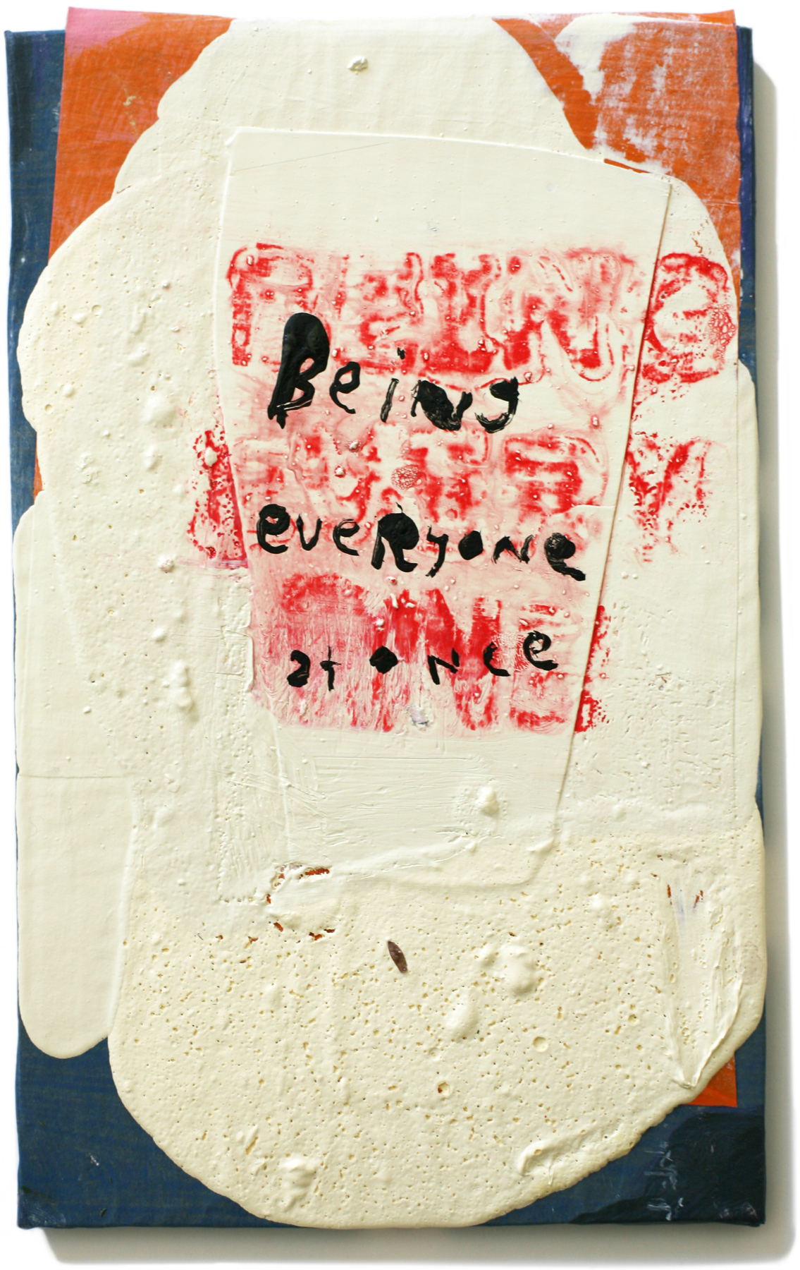 """Being Everyone, 10"""" x 6"""", 2011 (private collection)"""