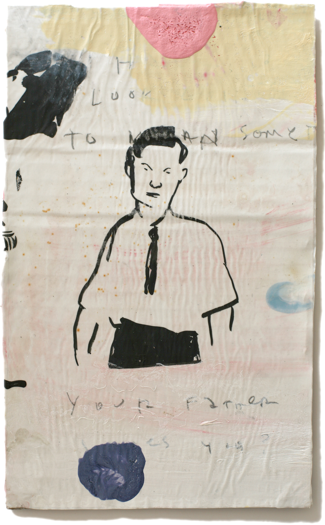 """Your Father, 10"""" x 6"""", 2011 (private collection)"""