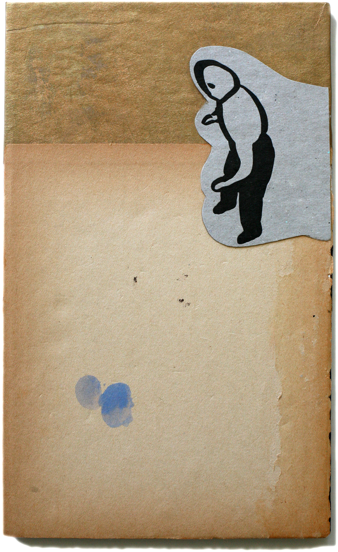 """Referee, 10"""" x 6"""", 2008-2010 (private collection)"""
