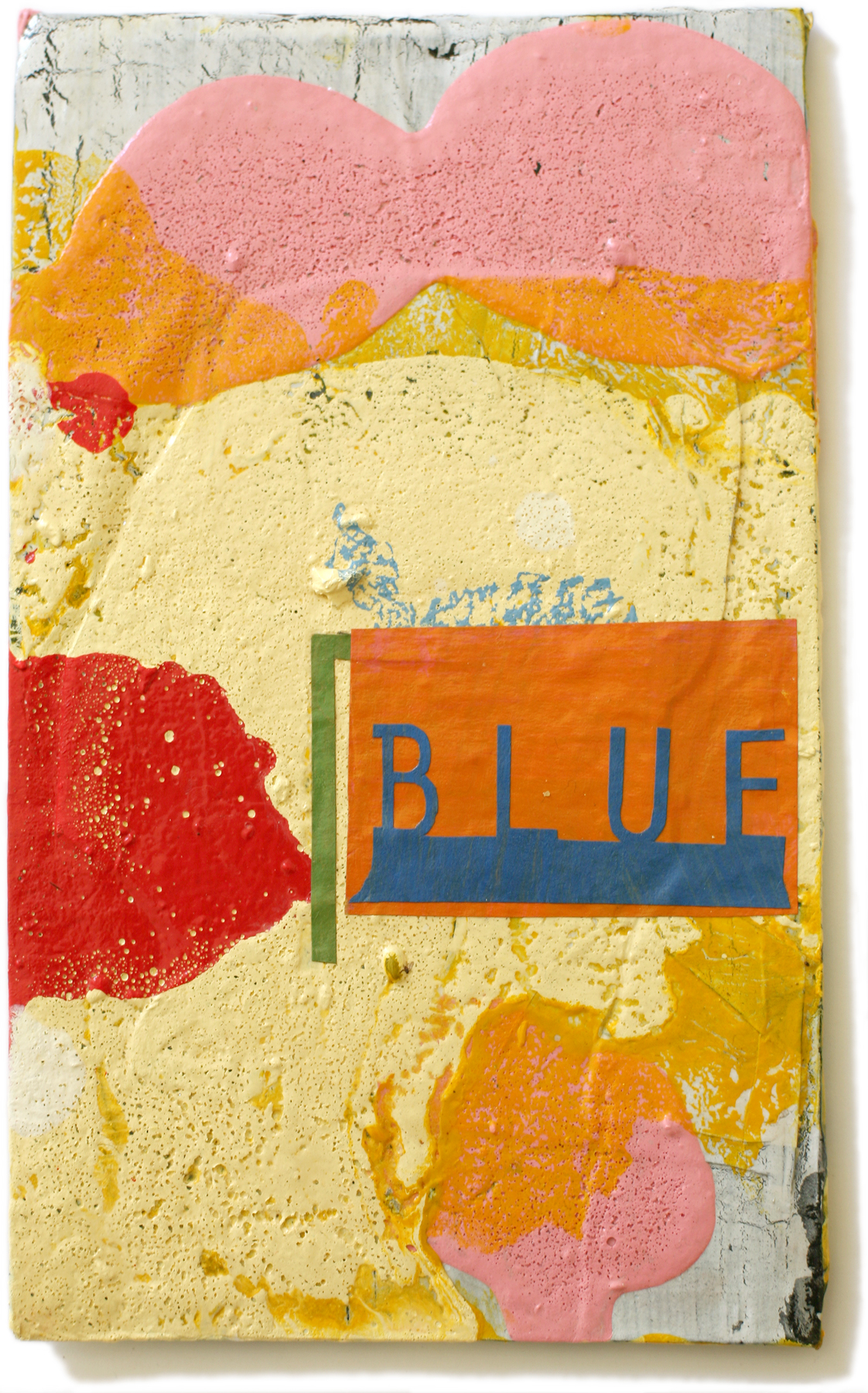"""Blue, 10"""" x 6"""", 2008-2010 (private collection)"""