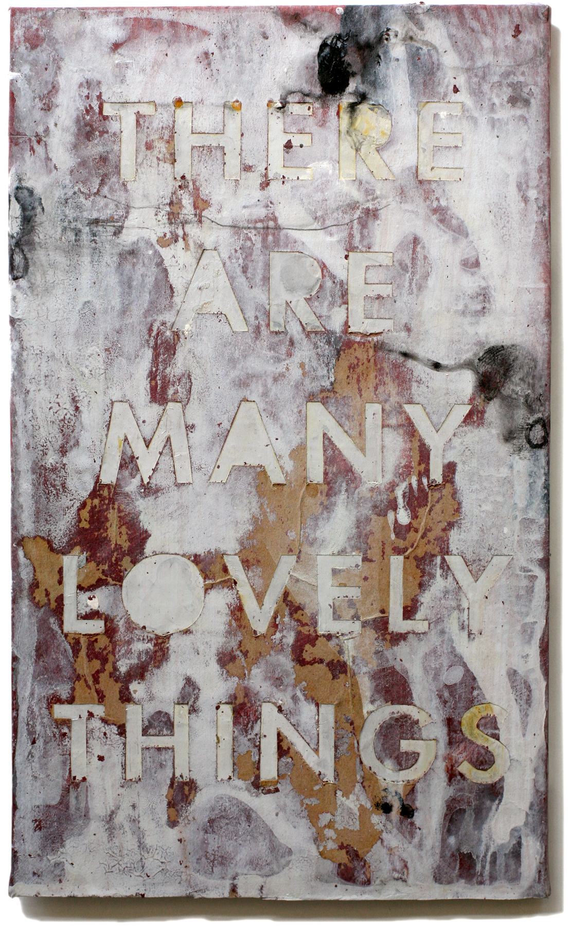 """Lovely Things 11, 10"""" x 6"""", 2008-2010"""