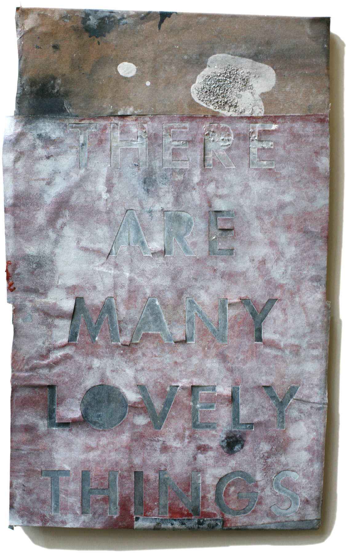 """Lovely Things 23, 10"""" x 6"""" 2008-2010 (private collection)"""