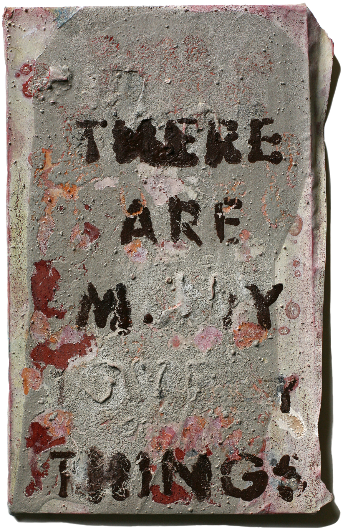 """Lovely Things 43, 10"""" x 6"""", 2008-2010"""