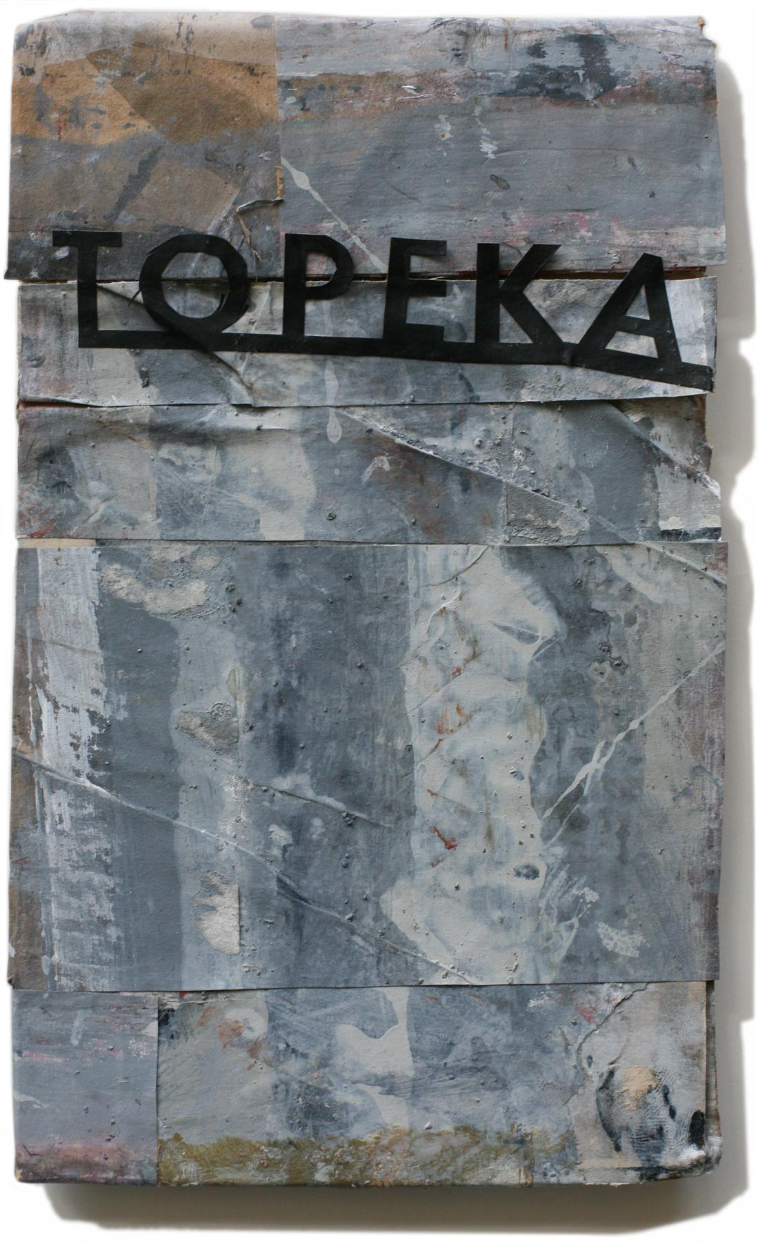 """Topeka, 10"""" x 6"""". 2008-2010"""