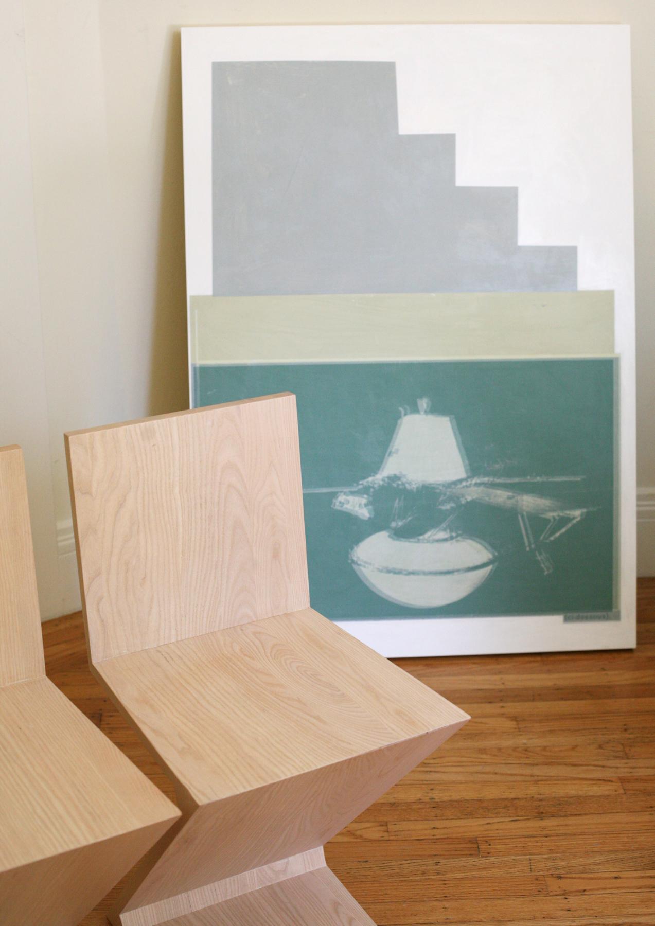 "Probe, digital print + acrylic, 48"" x 34"""