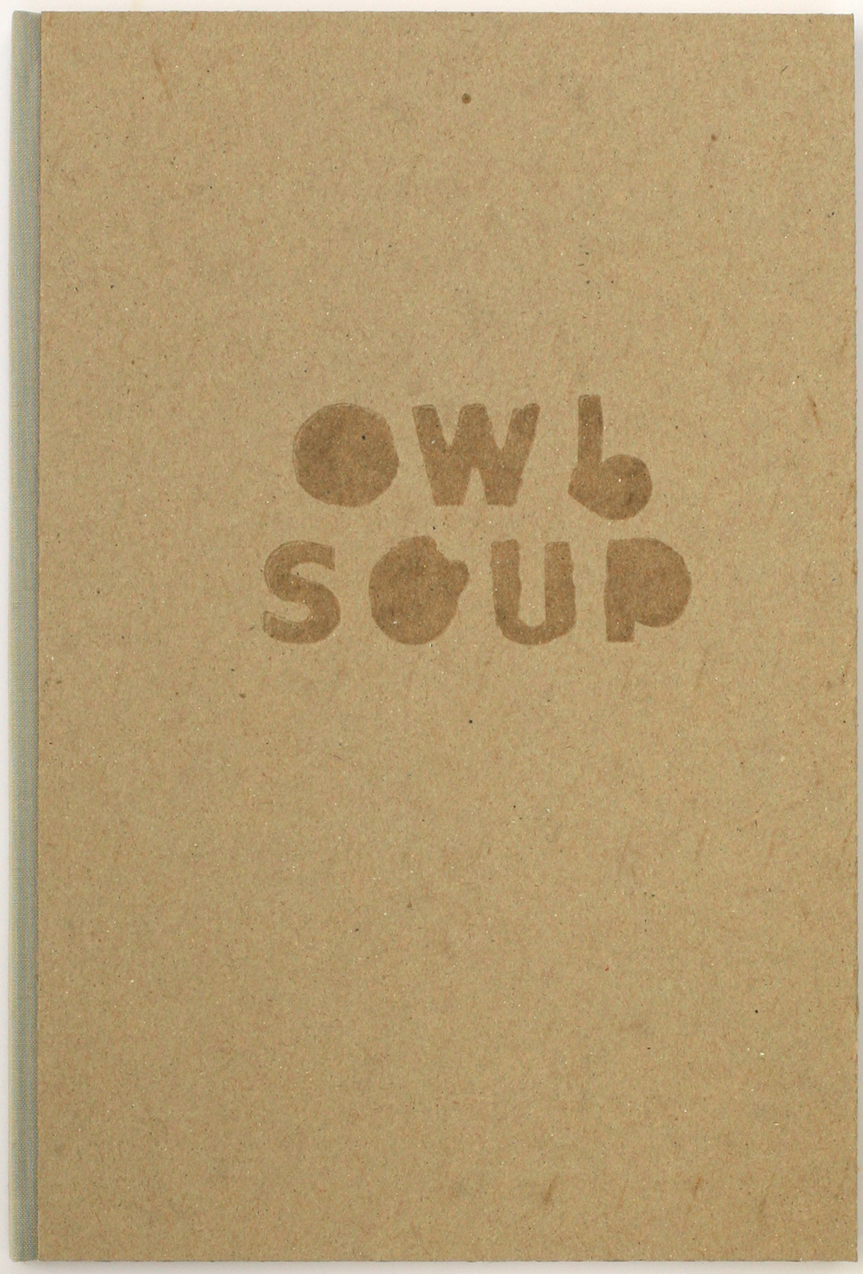 Owl Soup, edition of ten, 2014 (in 9 private collections, including the Achenbach Foundation)