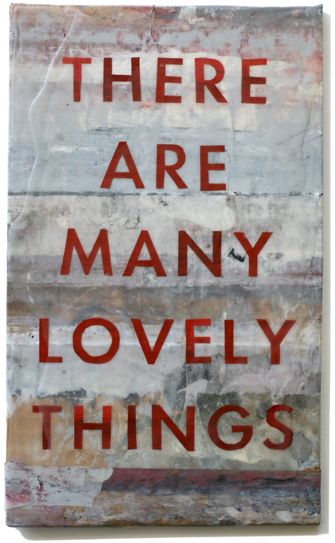 """Lovely Things 32, 10"""" x 6"""", 2008-2010 (private collection)"""