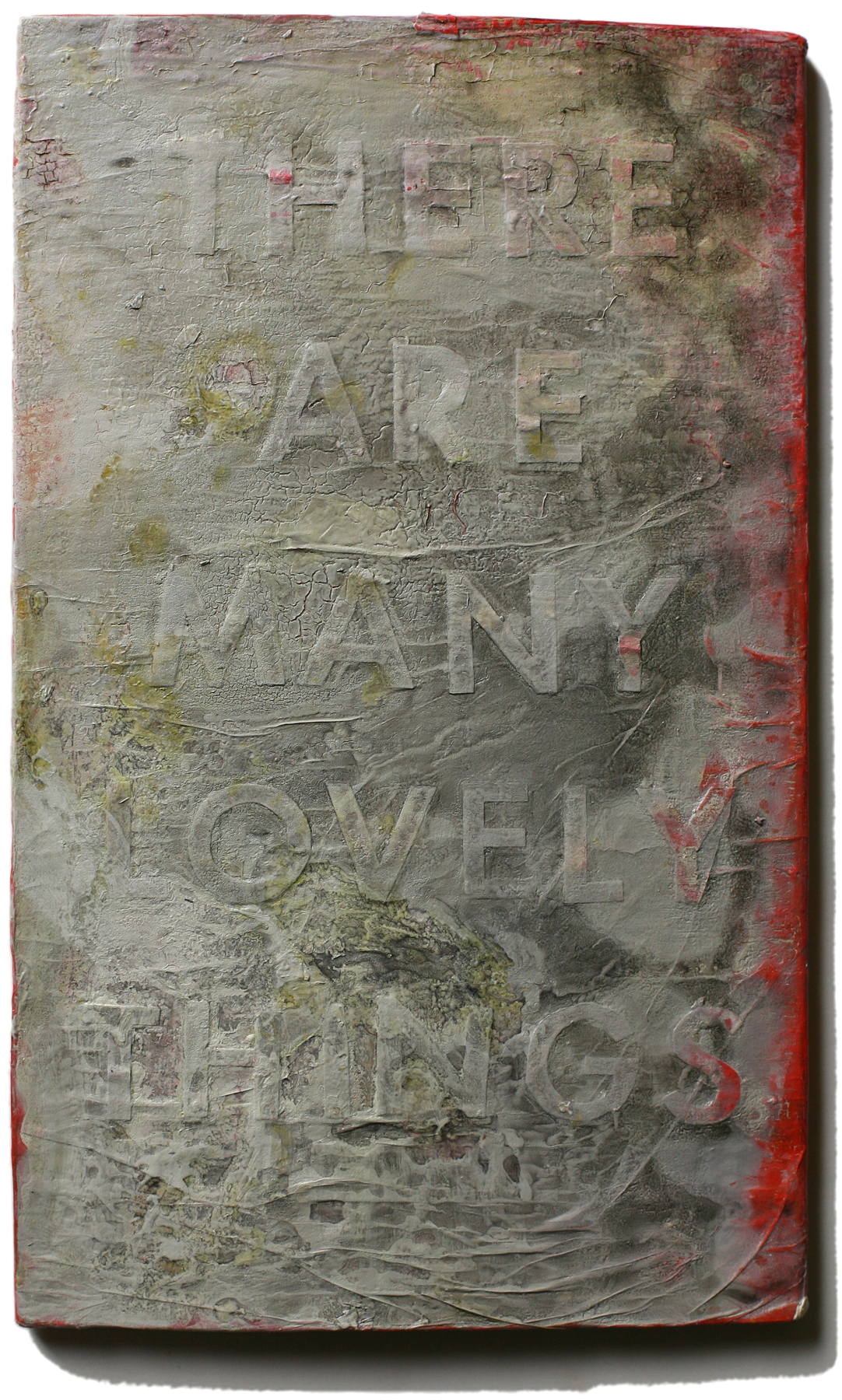 """Lovely Things 41, 10"""" x 6"""", 2008-2010 (private collection)"""
