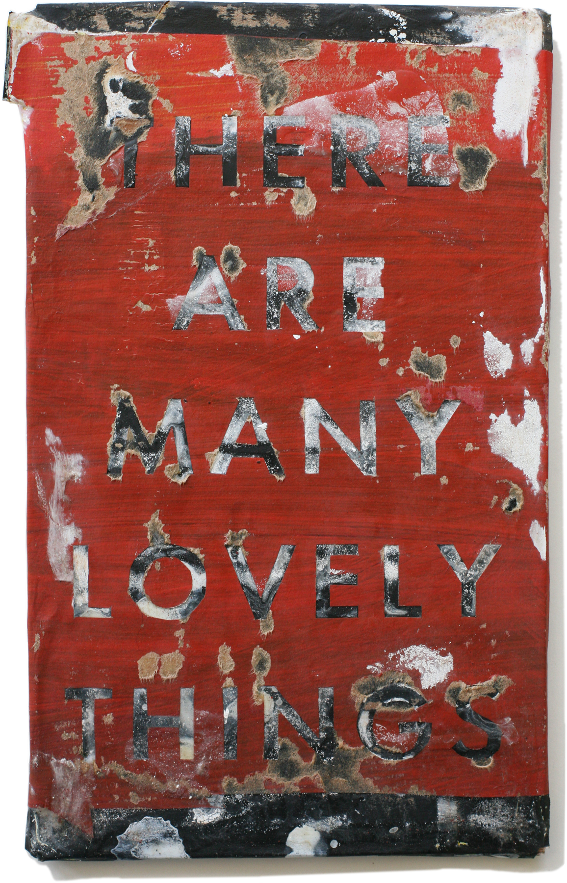 """Lovely Things 33, 10"""" x 6"""", 2008-2010 (private collection)"""