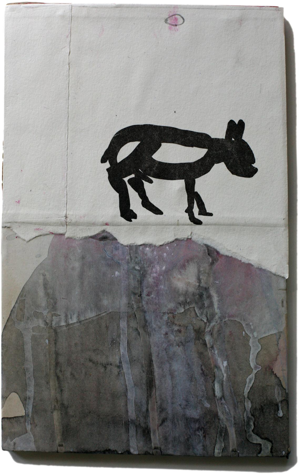 "Alfred, 10"" x 6"", 2008-2010"