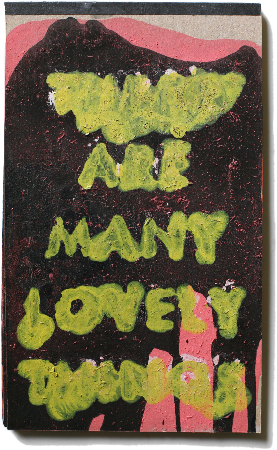 """Lovely Things 59, 10"""" x 6"""", 2008-2010 (private collection)"""