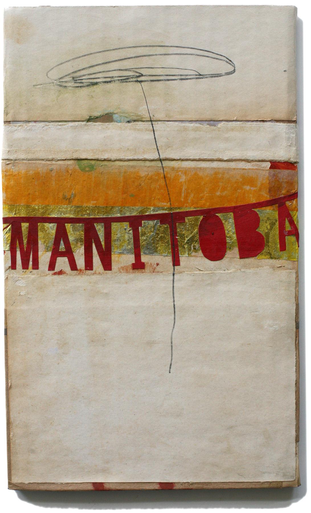 """Manitoba, 10"""" x 6"""", 2008-2010 (private collection)"""