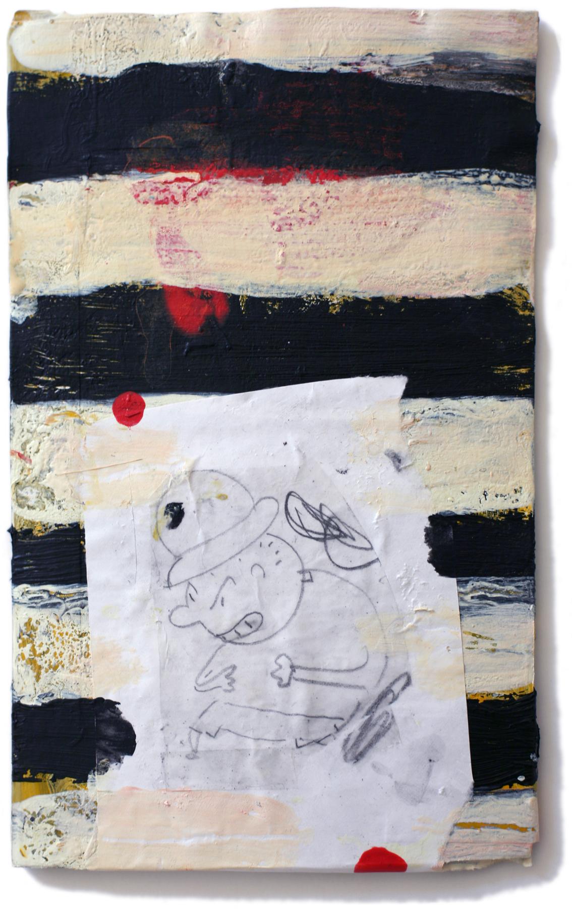 "Ill-Humored, 10"" x 6"", 2011"