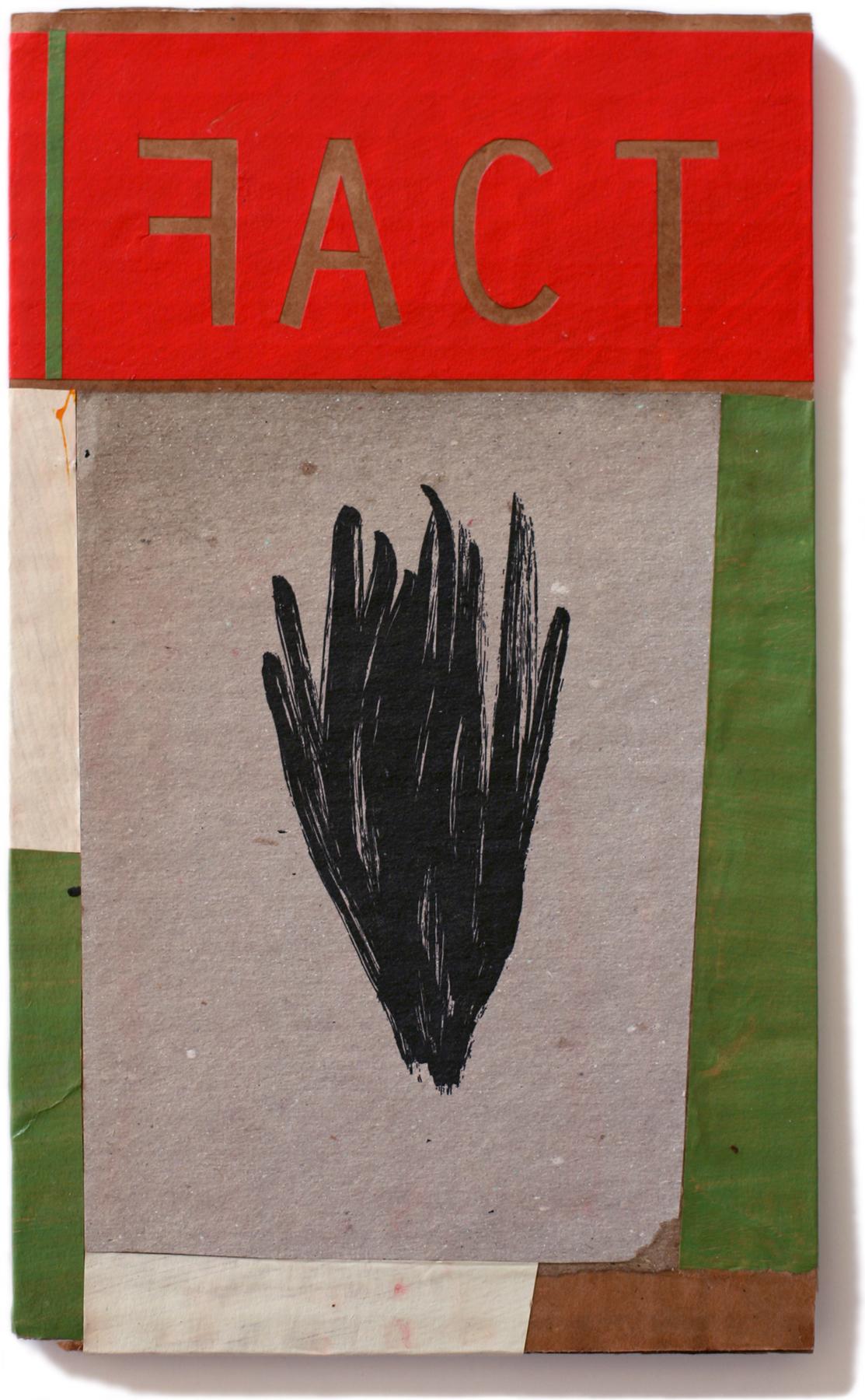 """Fact, 10"""" x 6"""", 2011"""
