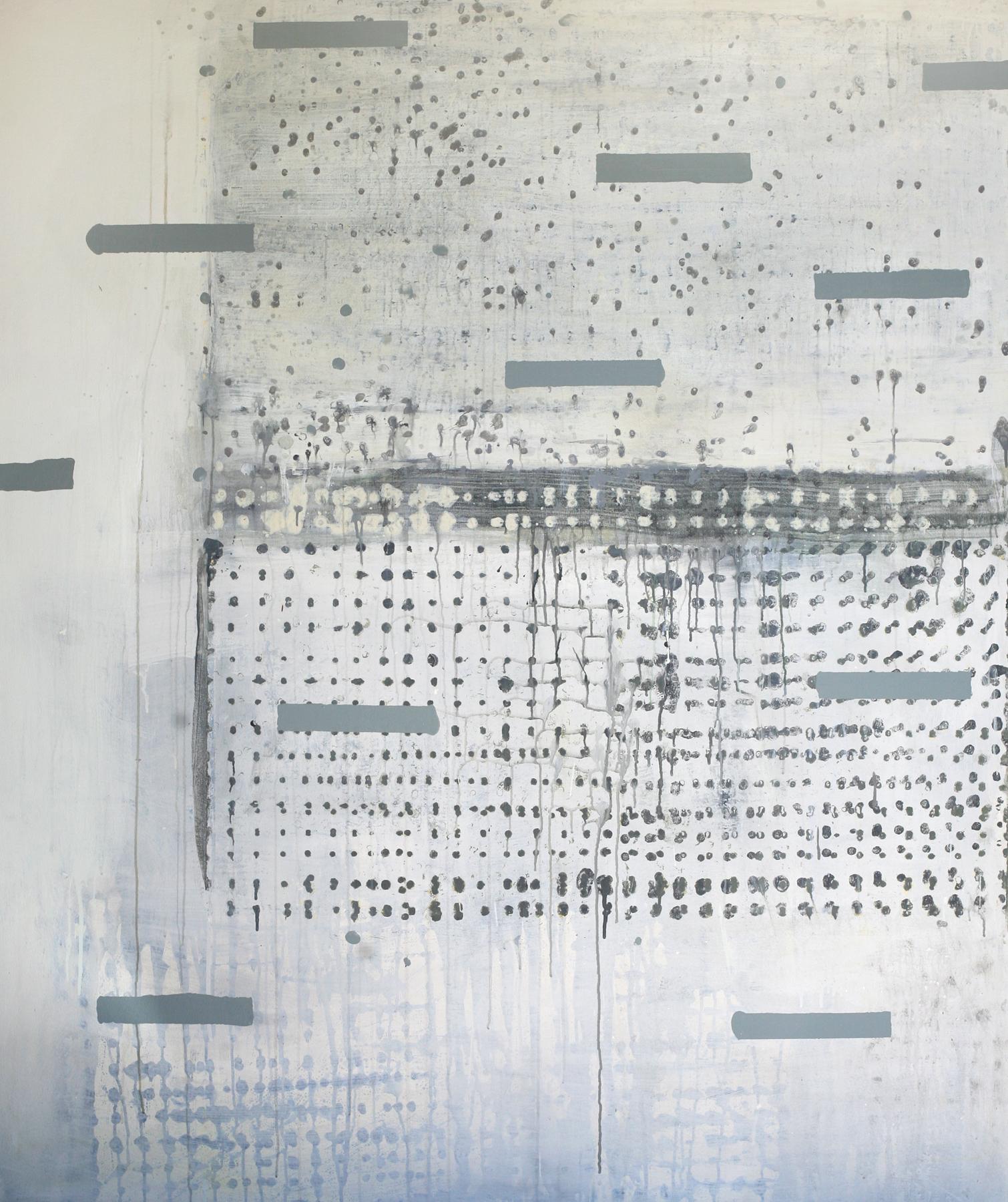 """Shawl, acrylic on canvas, 72"""" x 60"""""""