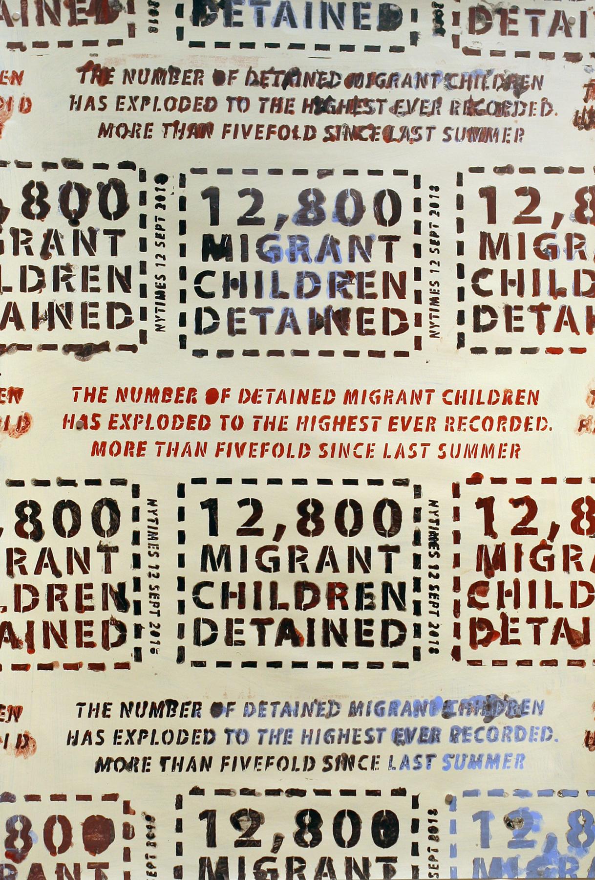 12,800 Migrant Children Detained
