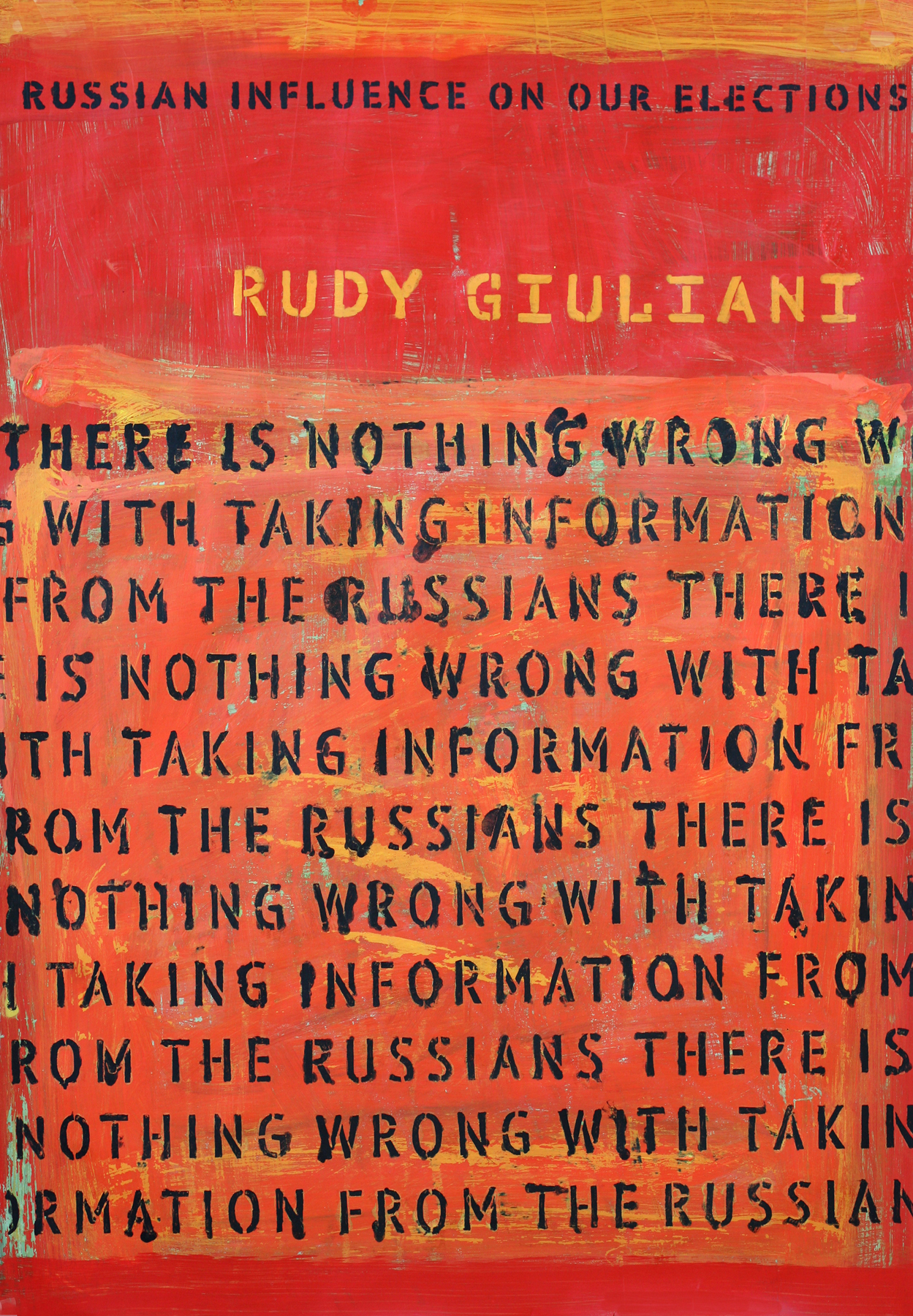 """Giuliani: """"There is nothing wrong with taking information from the Russians."""""""