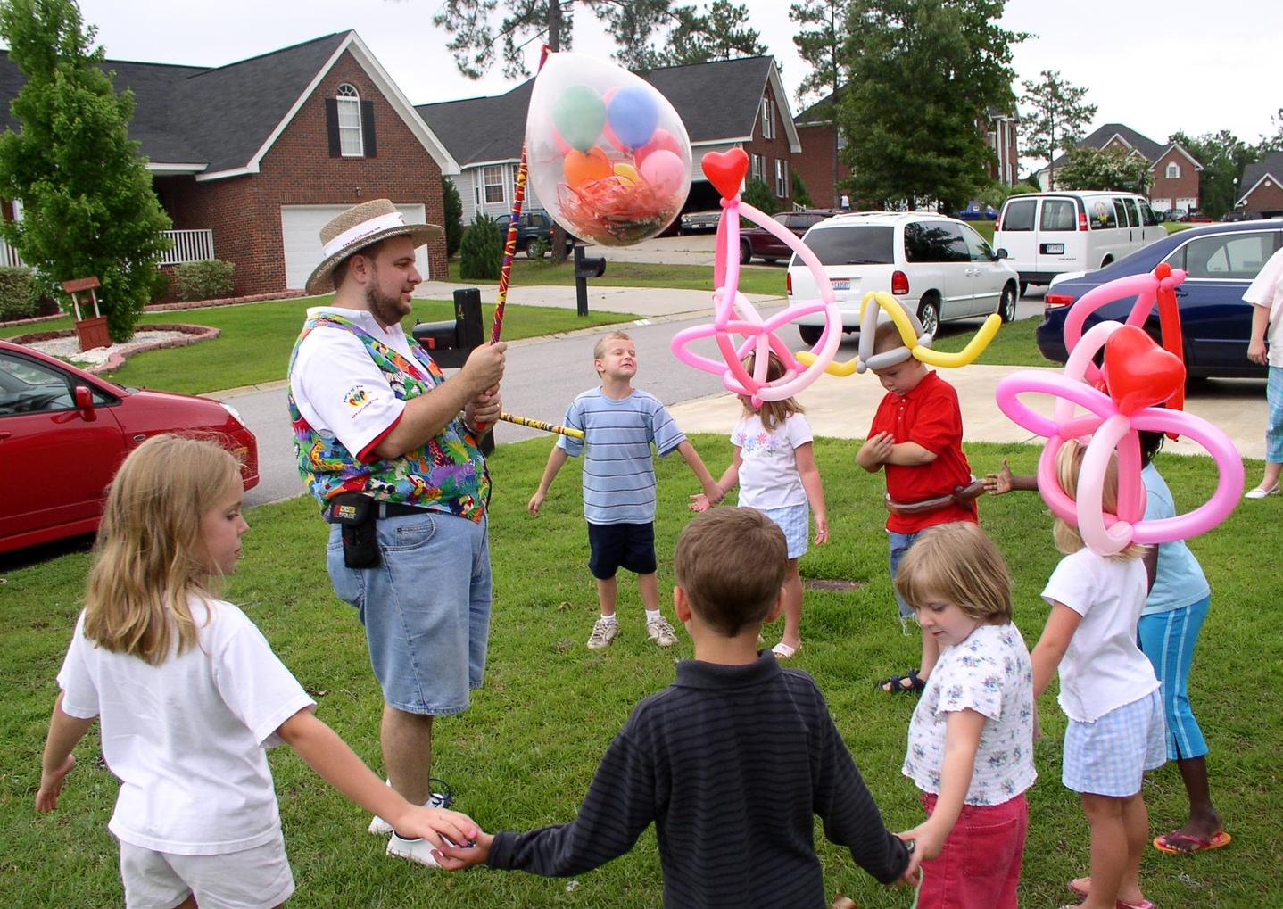 Balloonyatta circle