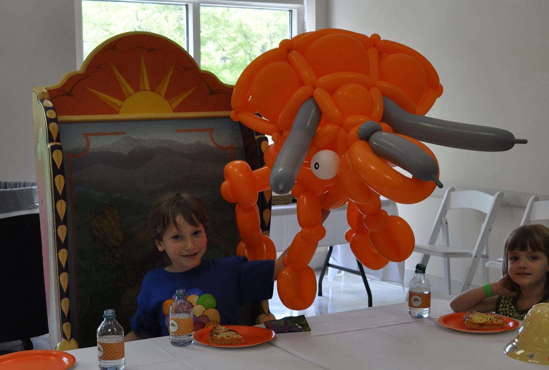 Balloon triceratops