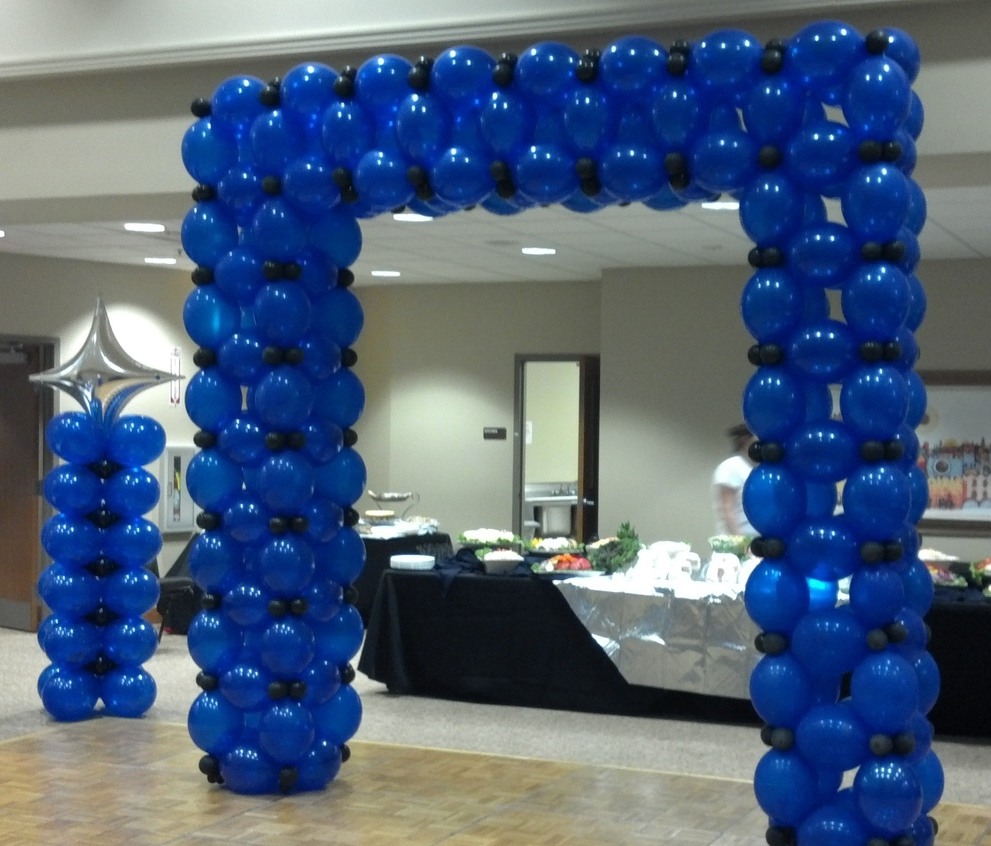 Bar Mitzvah balloon decor
