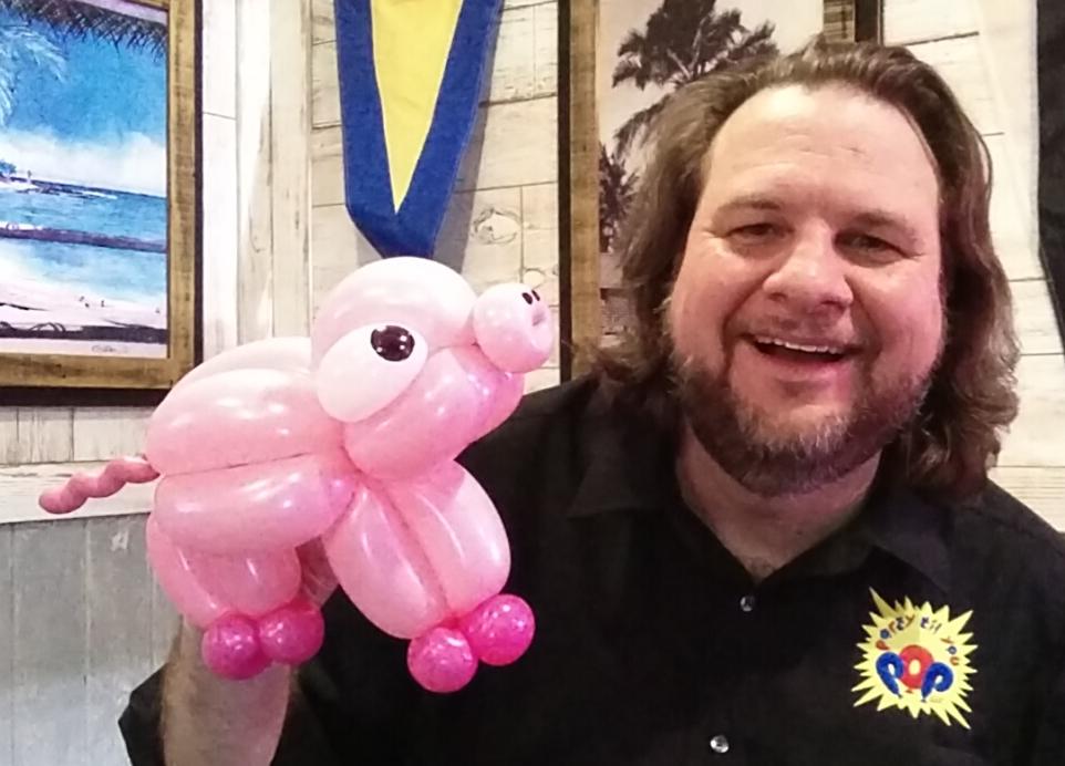 Balloon piglet