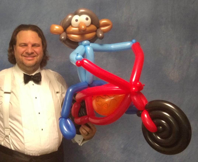 Balloon motorcycle
