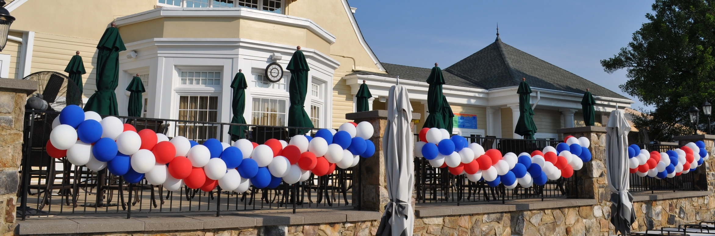 Independence Day Balcony Balloons