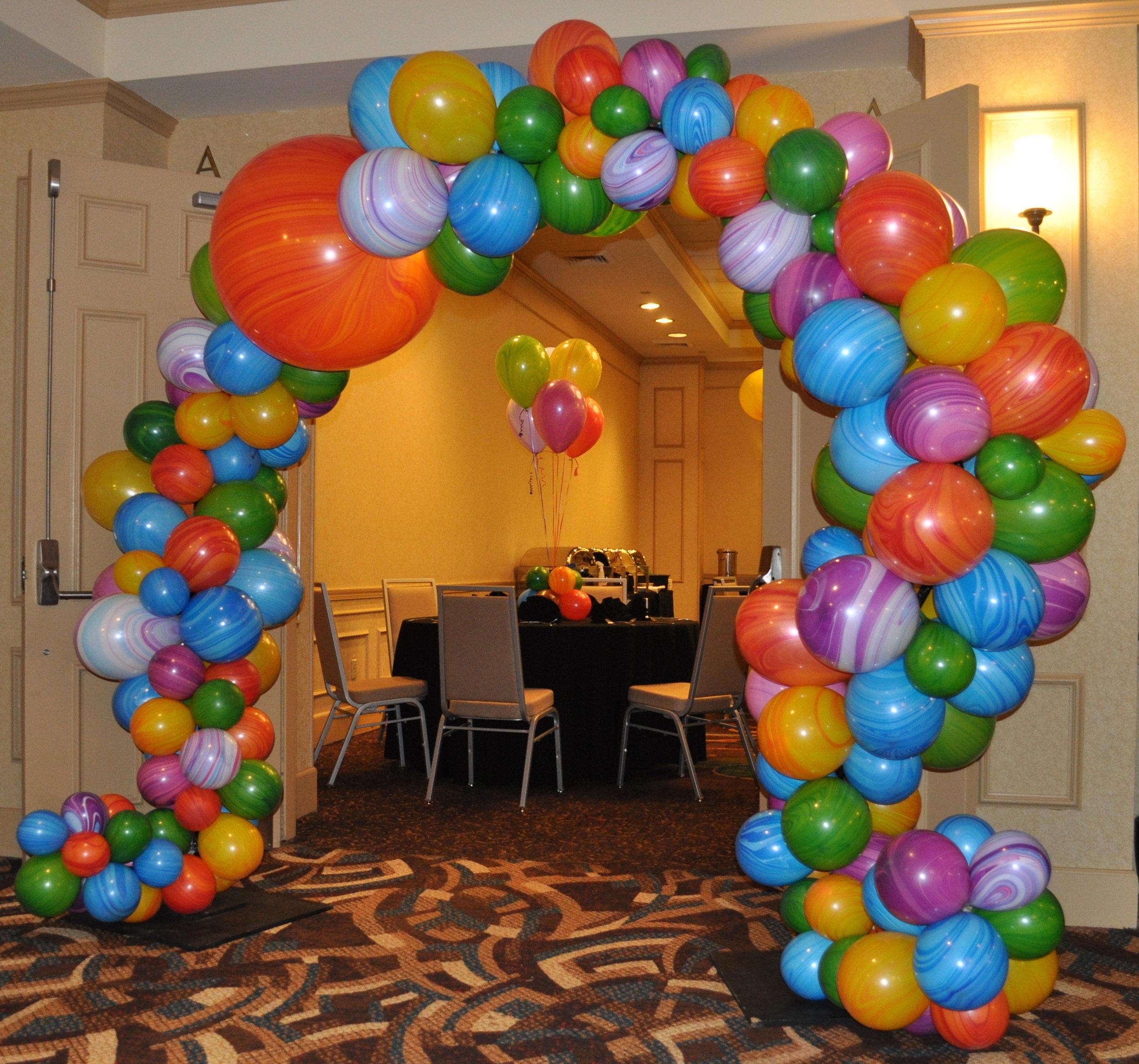 Balloon Organic Arch