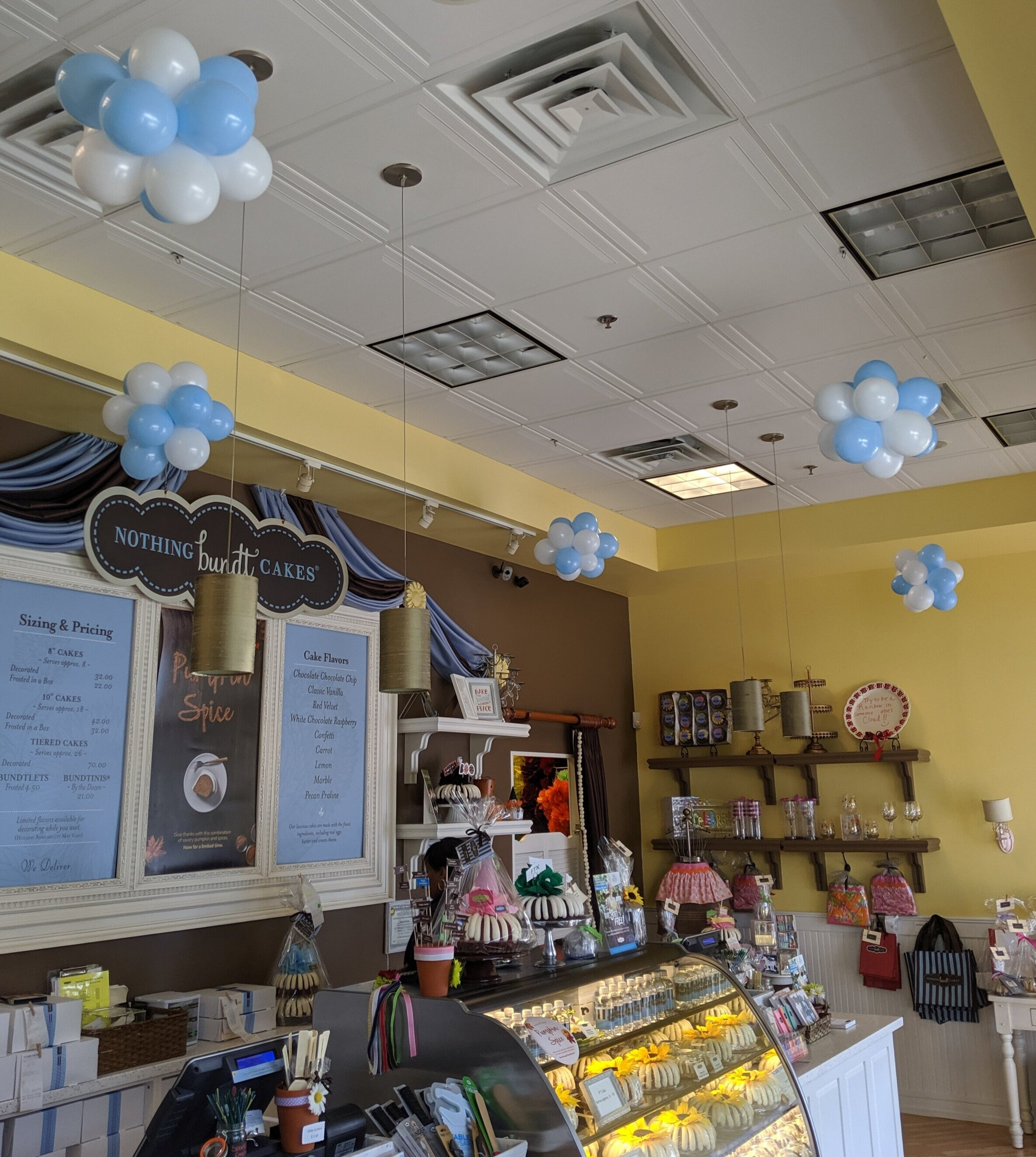 Nothing Bundt Cakes Retail Balloon Decorations