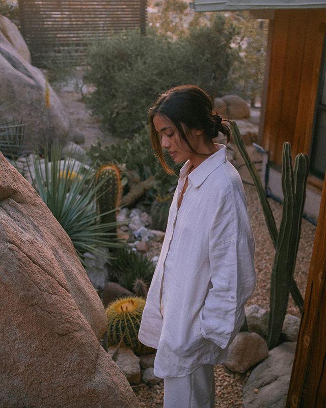 At dusk 🌙 'TwentyNine Palms' preset, link in bio