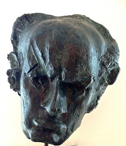 Goya,1959     Medium: Sculptures, Bronze     Size: 16.5 x 12 in. (41.9 x 30.5 cm.)     Movement: Contemporary, Modern     Catalogue: Vanita Fine Art & Antiques, Inc.     Price: Price on Request