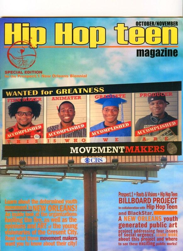 Prospect 1 Biennial Youth Project, New Orleans, LA 2008