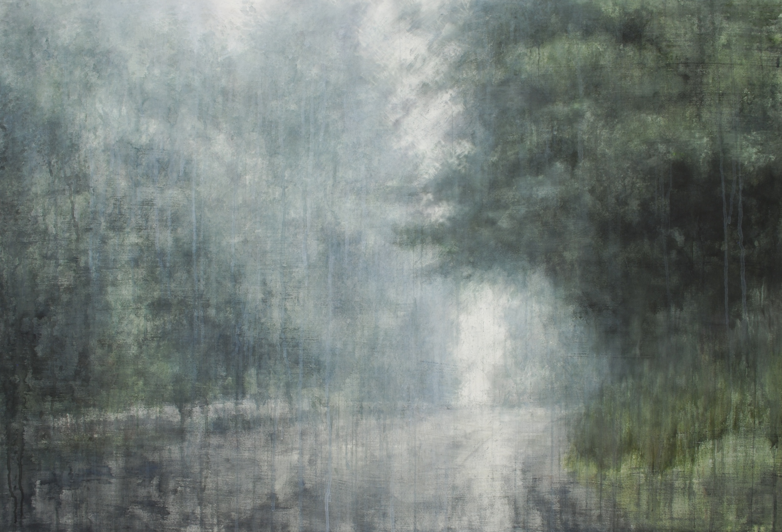 Lonesome Journey IV, 45x65 inches, (Private Collection)
