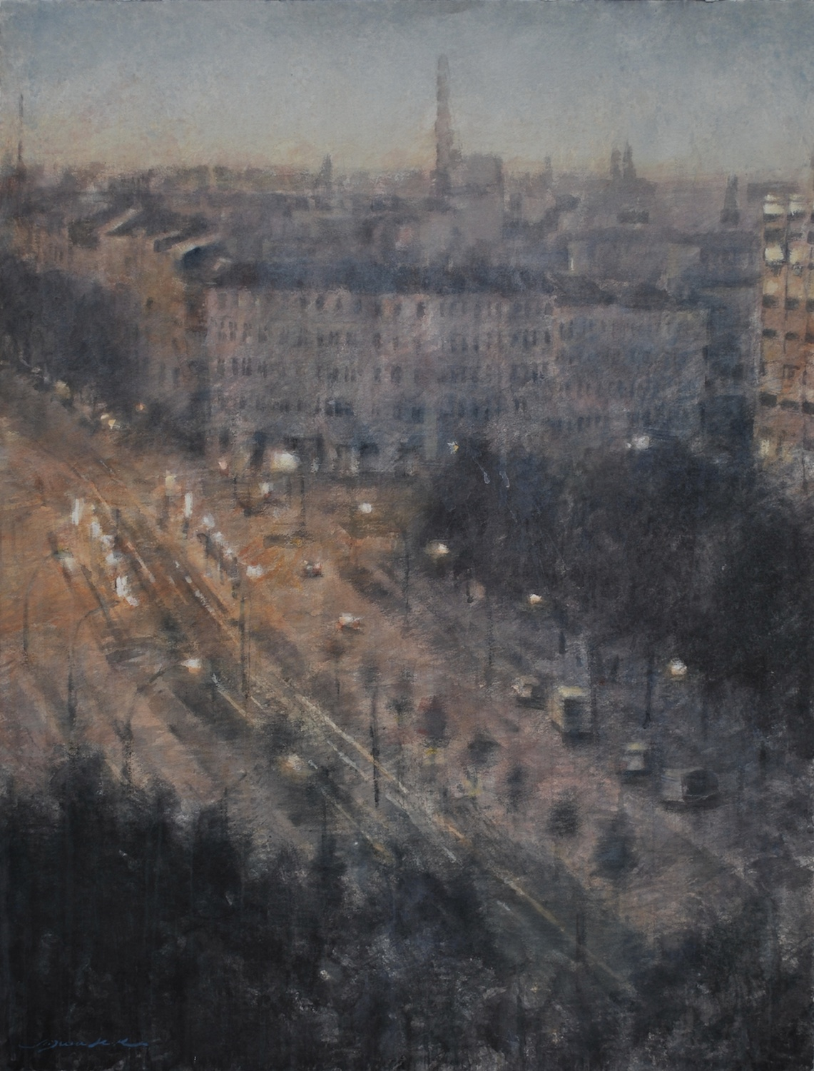 Berlin, 34x45 inches