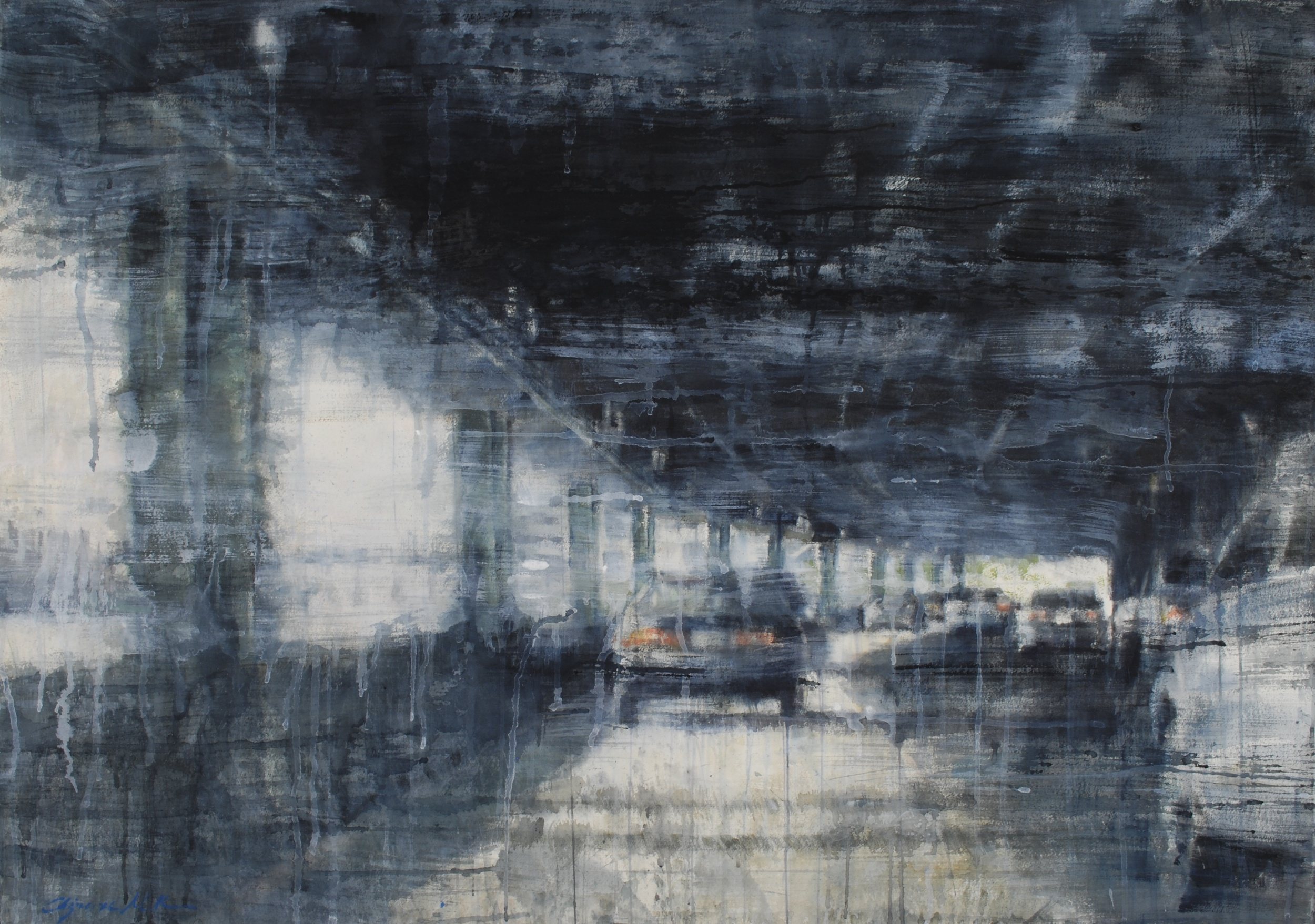 FDR Drive, NYC, 37x52 inches