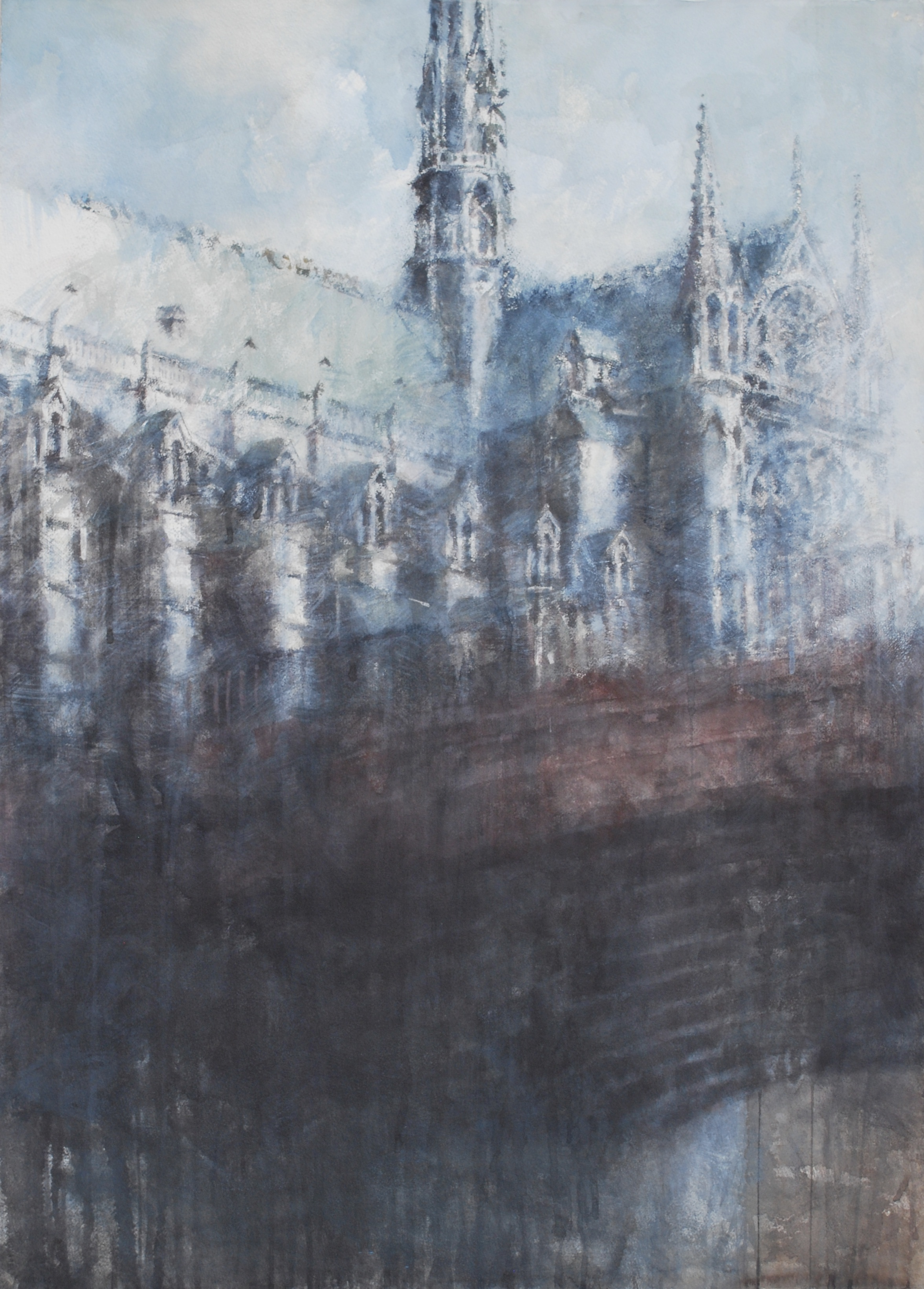 Notre Dame III, 29x41 inches